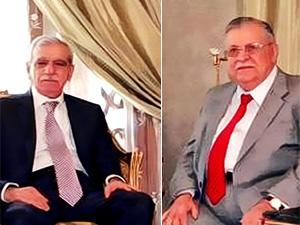 Ahmet Türk'ten Talabani'ye: Sizi tekrar görmeyi çok isterdim ancak...