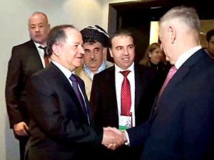 Barzani, ABD Savunma Bakanı ile görüştü