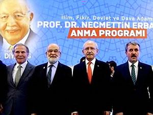 Kılıçdaroğlu, Erbakan'ı anma töreninde konuştu