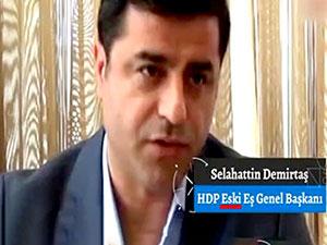HDP'den TRT'ye Demirtaş tepkisi