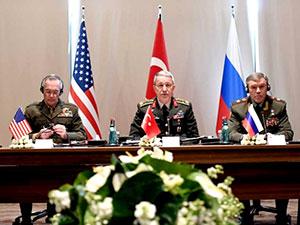 Türkiye, ABD ve Rusya Genelkurmay başkanları görüştü