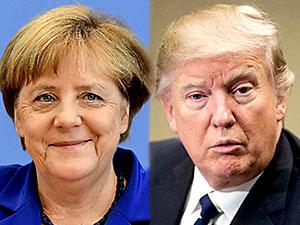 Merkel-Trump görüşmesi ertelendi