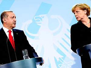 Cumhurbaşkanı Erdoğan bugün Merkel ile görüşecek