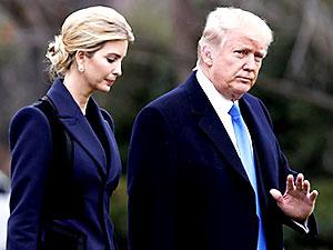 Trump kızı İvanka'yı danışman yaptı