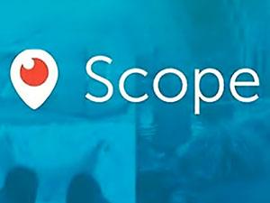 Twitter, Periscope'un adını değiştirdi Scope yaptı