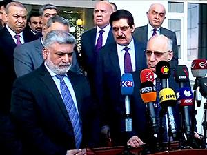 Kürdistan Heyeti: 'Kerkük'te Kürdistan Bayrağı indirilmeyecek'