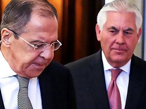 Lavrov ve Tillerson, Moskova'da ilk kez bir araya geldi