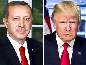 Erdoğan, Trump ile ayaküstü görüştü