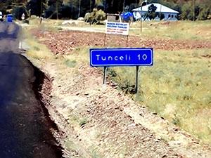 Tunceli'de 31 bölgeye giriş yasağı