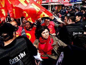 İstanbul'da 1 Mayıs bilançosu: 165 gözaltı