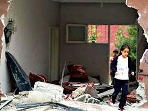 Silopi'de polis panzeri eve girdi: 2 çocuk hayatını kaybetti