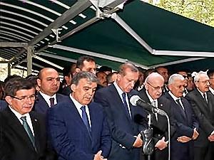 Abdullah Gül'ün babası toprağa verildi