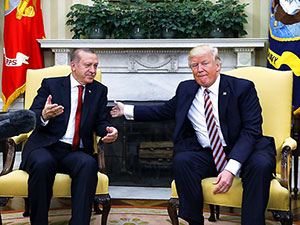 Trump ve Erdoğan'dan ortak açıklama