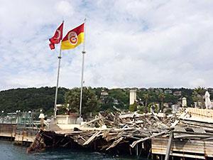 Galatasaray'dan adadaki yıkımla ilgili ilk açıklama
