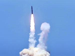ABD füze savunma sistemini test etti