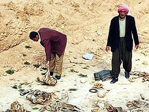 Şengal'de 3 toplu mezar daha bulundu