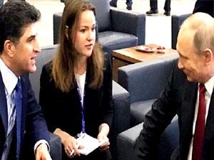 Barzani-Putin görüşmesinde neler konuşuldu