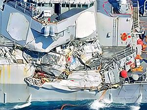 Kaybolan ABD'li denizcilerin cesetlerine ulaşıldı
