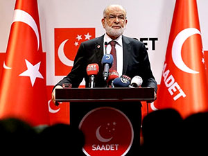 Saadet Partisi: Erken seçim değil 'baskın seçim' olabilir