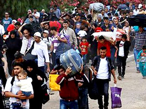 BM: 500 bine yakın Suriyeli evine döndü