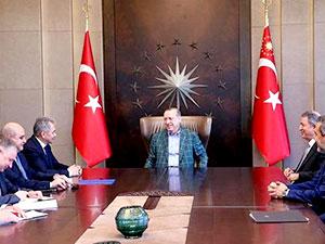 Erdoğan, Rusya Savunma Bakanı Şoygu ile görüştü