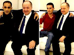Mesud Barzani tedavi gören Peşmergeleri ziyaret etti