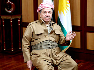 Mesud Barzani: Afrin için derin endişe duyuyoruz