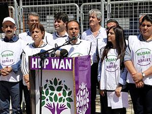HDP'nin 'Vicdan ve Adalet Nöbeti' Van'da