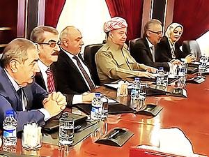 Bağdat'a gidecek referandum heyeti açıklandı