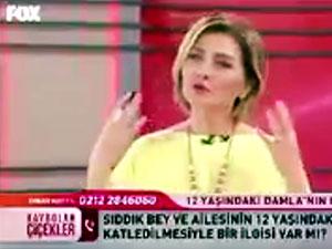 Canlı yayında Kürtçe konuşmaya başladı programın sesi kısıldı