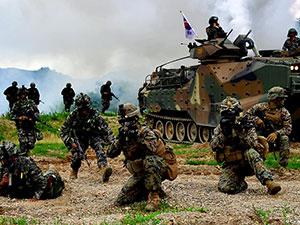 ABD-Güney Kore ortak tatbikatı başladı