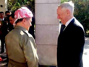 ABD Savunma Bakanı Mattis Hewler'de