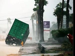 ABD'de beklenen Harvey Kasırgası ana karaya ulaştı