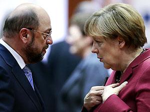 Gözler Merkel-Schulz arasındaki TV düellosunda