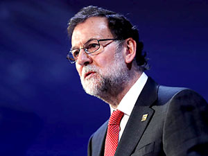 İspanya Başbakanı Rajoy'dan Katalonya'ya ziyaret