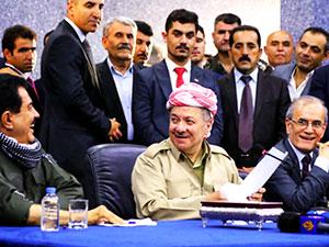 Barzani Kerkük'te: 'Kerkük Kürdistan'ın kalbidir'