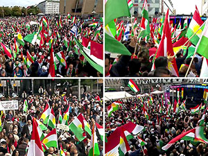 Stockholm ve Hamburg'da referanduma destek festivalleri