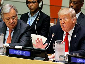 Trump'tan BM'de reform çağrısı