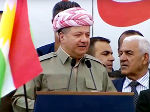 Barzani: Tek garantimiz referandum