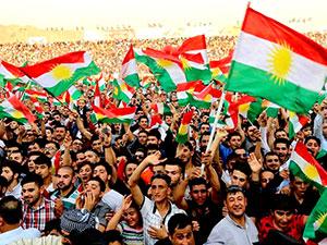 Mesud Barzani Hewler'de Bağımsızlık festivaline katıldı