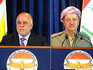 Barzani ile İbadi Paris'te bir araya geliyor