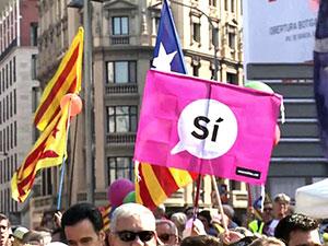 Avrupa'dan Katalonya referandumuna tepki