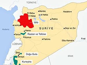 Suriye ordusu İdlib'e havadan uyarı broşürleri attı