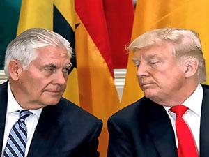 Trump, Dışişleri Bakanı Tillerson'ı görevden aldı