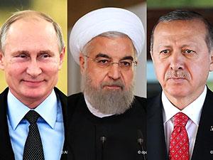 Üçlü zirvesi öncesi liderler konuştu: Putin: İdlib teröristlere güvenli bölge olmamalı