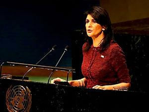 ABD'nin BM Daimi Temsilcisi Nikki Haley istifa etti