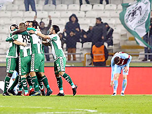 Trabzonspor kupada mağlup