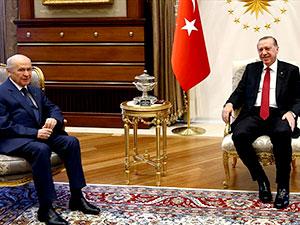 Erdoğan yarın Bahçeli ile görüşecek