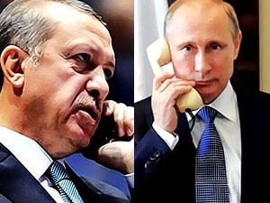 Erdoğan ile Putin, Afrin ve İdlib'i görüştü