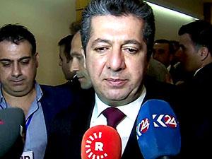 Mesrur Barzani ilk ziyaretini Bağdat'a gerçekleştiriyor